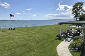 Scenic Shelter Island Soundfront with Pool