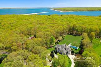 Handsome Shelter Island Traditional with Pool on 1.8 Acres