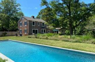 Shelter Island Stylish Farmhouse on 2 Acres with Pool