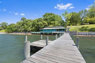 Shelter Island Estate with Sound Front Dock and Cabana