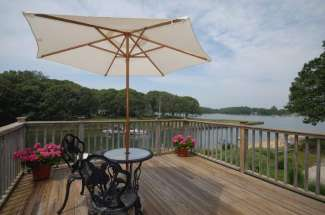 Shelter Island Traditional with Deep Water Dock