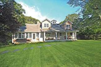 Shelter Island Designer's Traditional with Pool and Dock