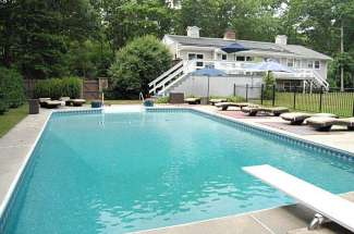 Shelter Island Retreat with Tennis, Pool, Guest House