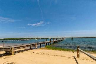 Shelter Island Turnkey Waterview with Dock, Guest House and Barn