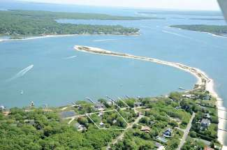 Shelter Island Water View Farmhouse with Guest House and Barn
