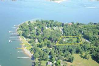 Gracious Dering Harbor Village Colonial with Deep Water Dock