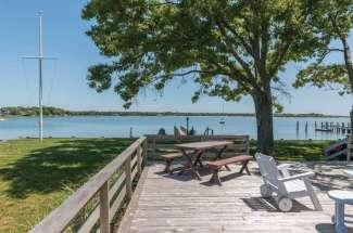 Sunny Shelter Island Beach House with Dock