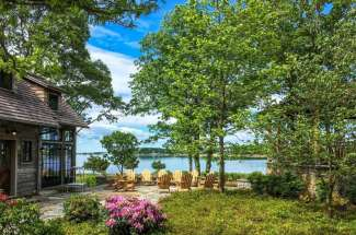 Shelter Island Pristine Waterfront Compound with Pool and Dock
