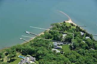 Shelter Island Harborfront with Deep Water Dock and Pool
