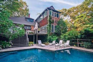 Shelter Island Estate Section Carriage House with Pool