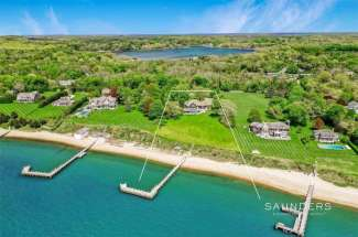 Shelter Island Estate Section Waterfront with Deepwater Dock