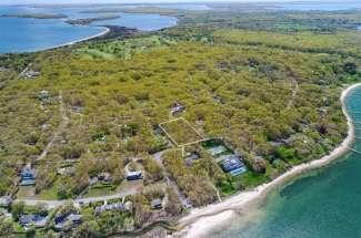 Shelter Island Gardiners Bay View Acreage