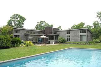 Modernists' Shelter Island Dream with a Pool