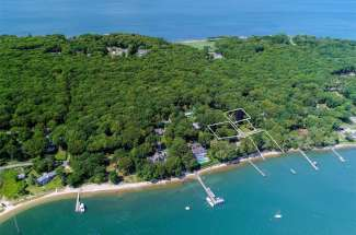 Shelter Island Harbor Front Cape with Guest House