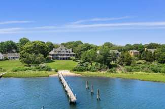 Estate Section Compound with Deep Water Dock, Sandy Beach, Pool