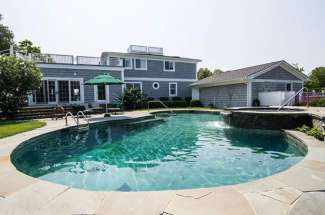 Shelter Island Waterfront with Pool, Dock and Tennis