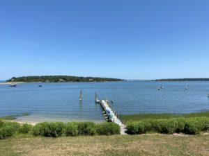 Shelter Island boat dock
